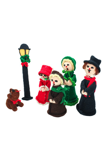 Crocheted Carolers