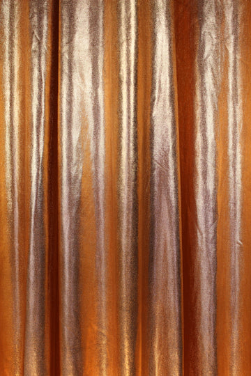 Iridescent Orange Peel Curtain