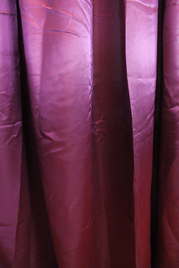 Satin Grape Curtain