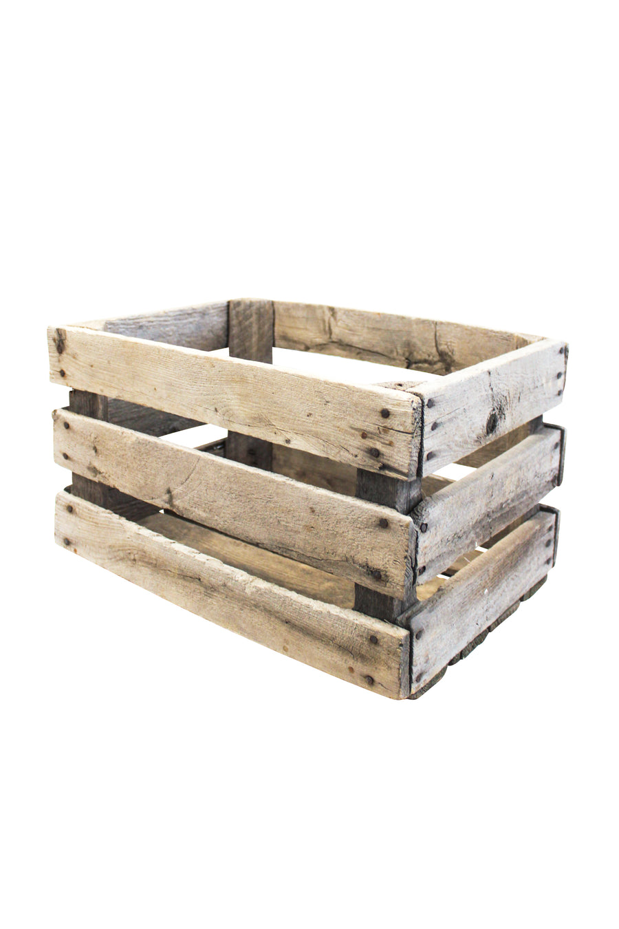 Slotted Wooden Crate