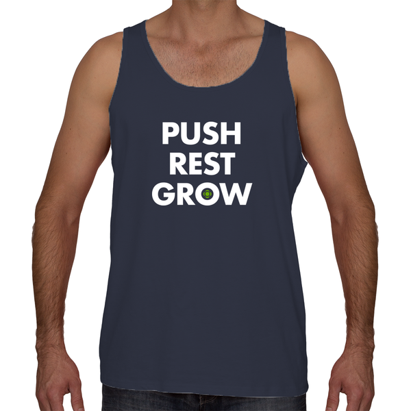 Push Rest Grow - Unisex / Men's Tank