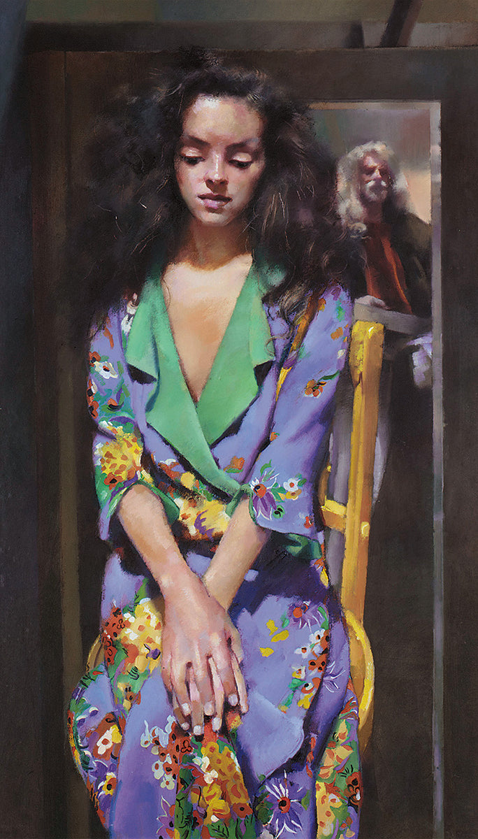 The Painter with Anna Navas – 'Anna in Purple Dress'. 1991