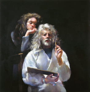 The Painter with Anna (II). 1995