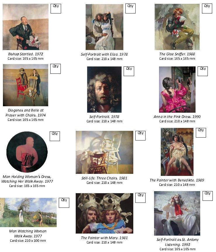 Set of 12 Lenkiewicz Foundation greetings cards