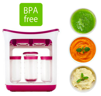 BABY FOOD SQUEEZE STATION® - 4mothersbymothers