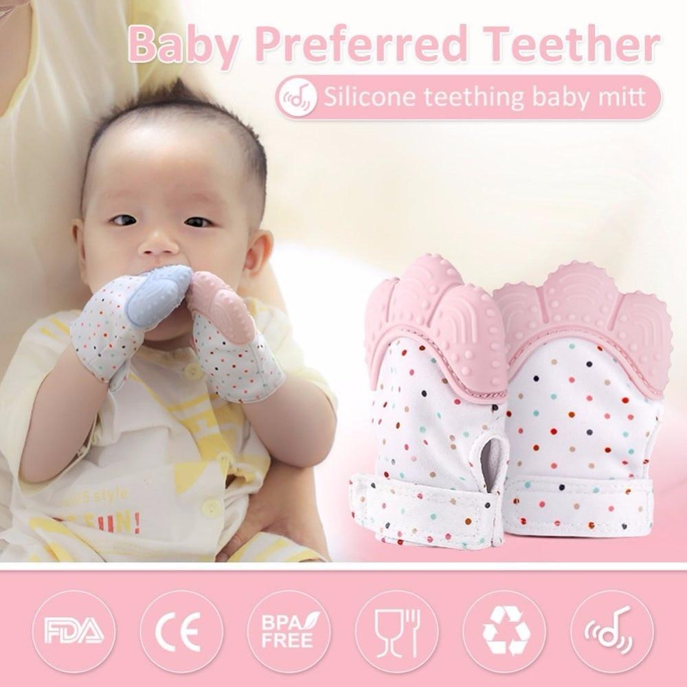 2020 LATEST BABY TEETHING MITTEN (1 PCS) - 4mothersbymothers