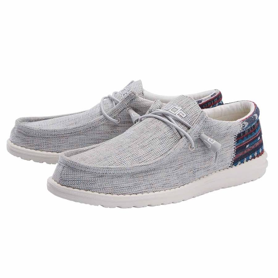 Men's Wally Canvas - Blue Cream
