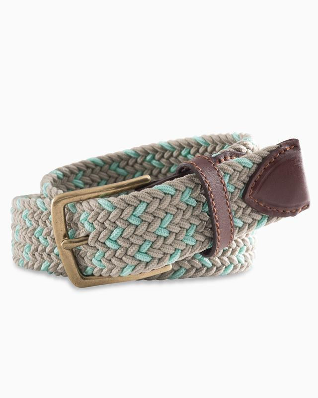 Southern Tide Braided Speckled Belt