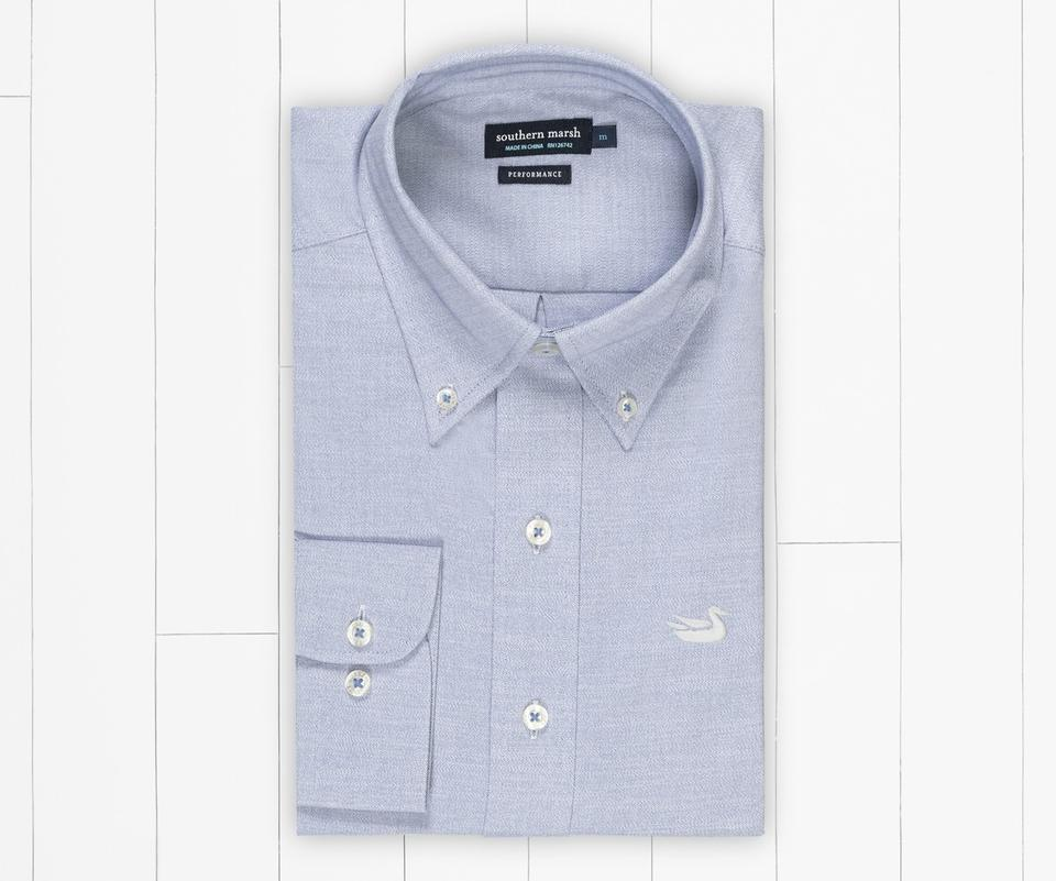 Postgrad Performance Oxford Dress Shirt