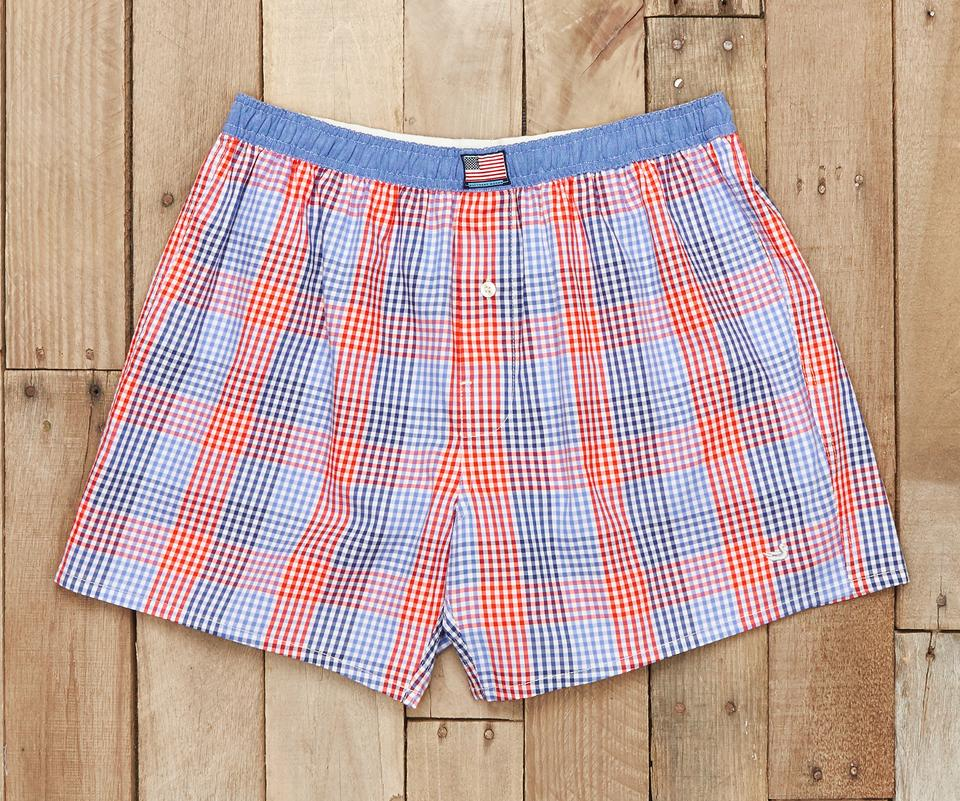 Hanover Gingham Boxers