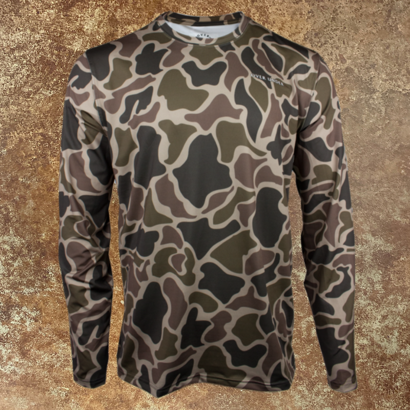 Timber Tech Duck Camo - Long Sleeve Performance Tee