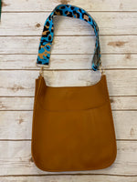 Soft Faux Leather Messenger