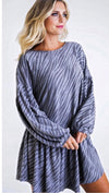 "The ""Eden"" Zebra Dress/Tunic"