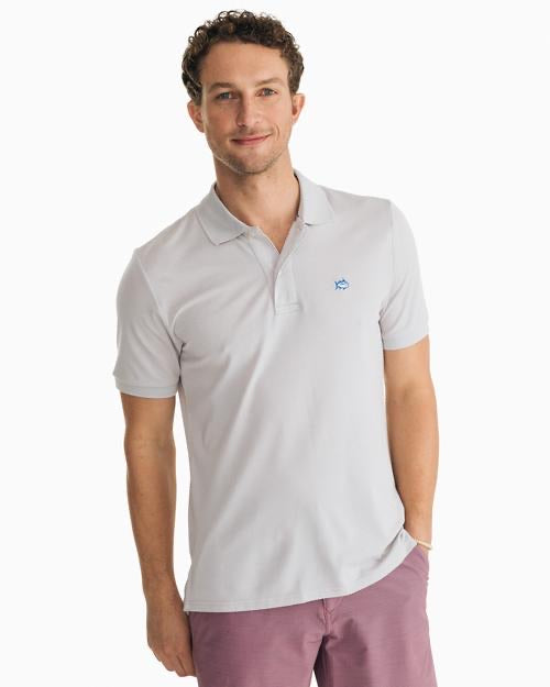 Jack Heathered Performance Polo