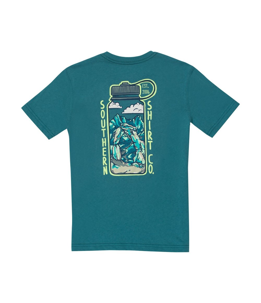 Boy's Thirst For Adventure - Short Sleeve