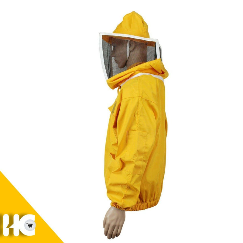 Ventilated Beekeeping Jacket with Square Mask - HugeCARE Srl