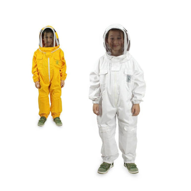 Children's Beekeeping Suit with Oval Veil Protective Mask