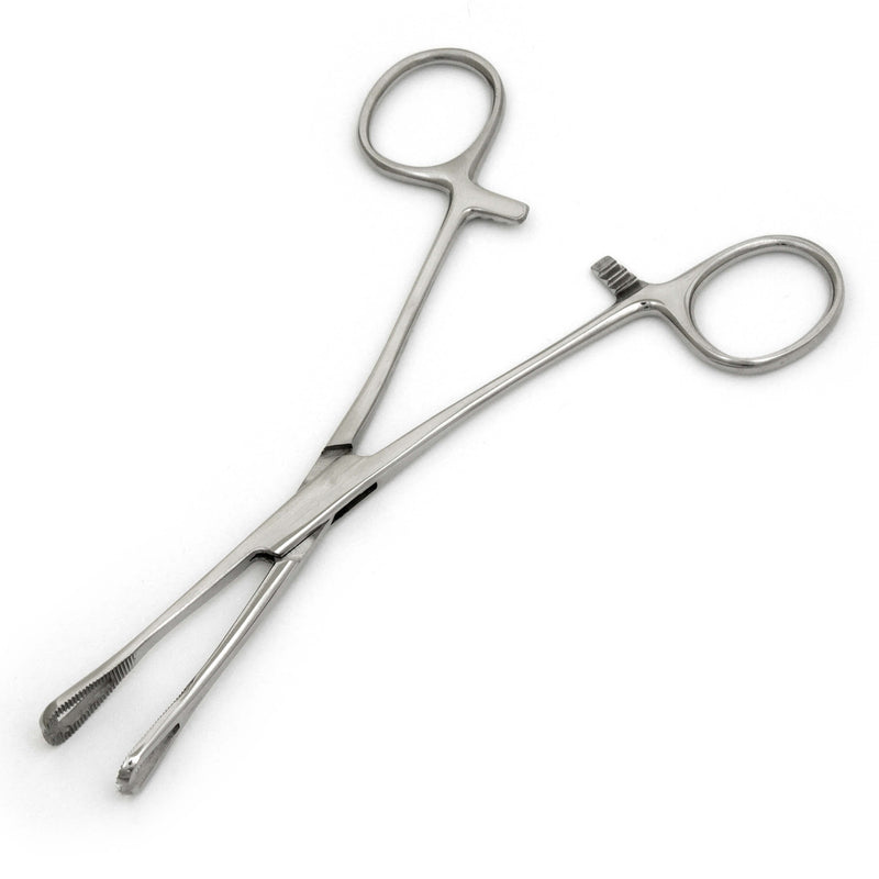 Pennington Piercing Forceps Triangular Points For Piercing - HugeCARE Srl