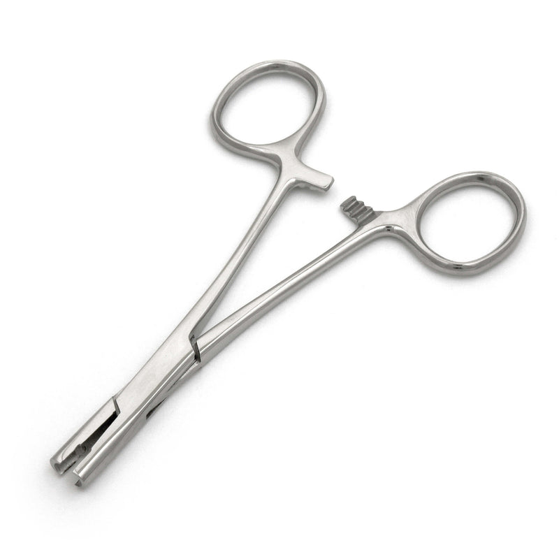 5Mm Dermal Surface Anchor Locking Forceps Microdermal Tool Body Piercing - HugeCARE Srl