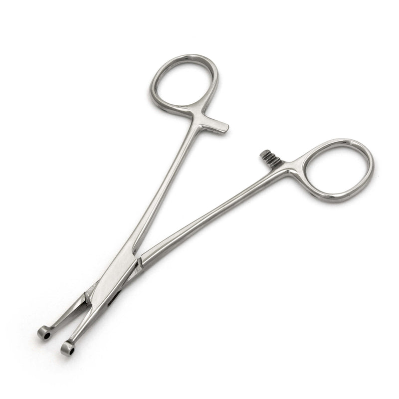 Septum Forceps Body Piercing Clamp Tool - HugeCARE Srl