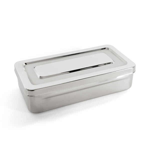 Instruments Tray Stainless Steel 100X200X50Mm - HugeCARE Srl