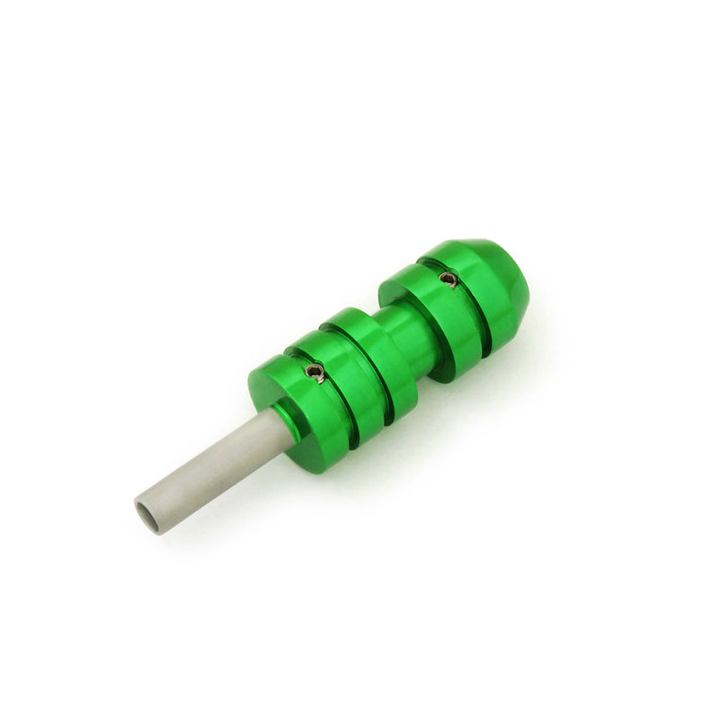 Tattoo cartridge Grip Green with Back Stem 22Mm - HugeCARE Srl