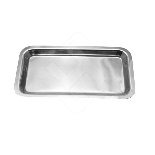 Professional Polished Finish Intruments Trays Stainless Steel - HugeCARE Srl