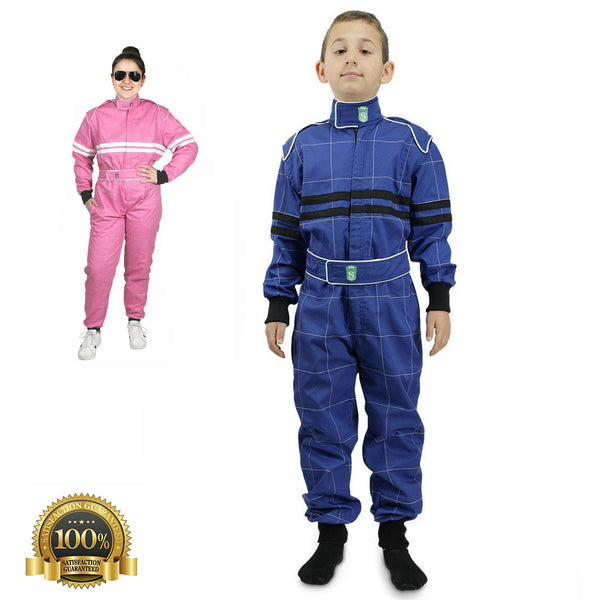 Children's High-Quality Kart Racing Suit - HugeCARE Srl