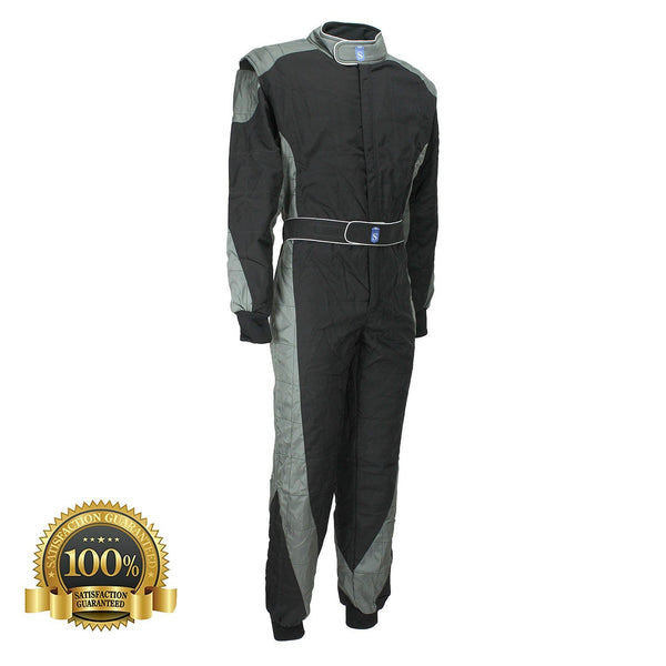 High-Quality Kart Racing Suit In Black Color - HugeCARE Srl