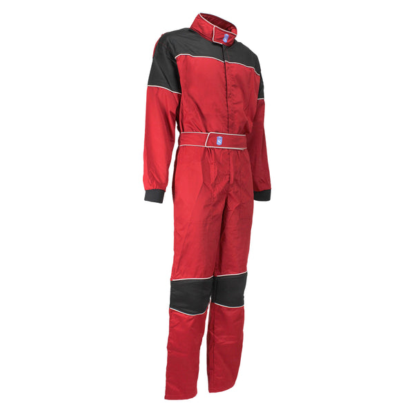 Mechanic Suit Kart Racing High Quality Red - HugeCARE Srl