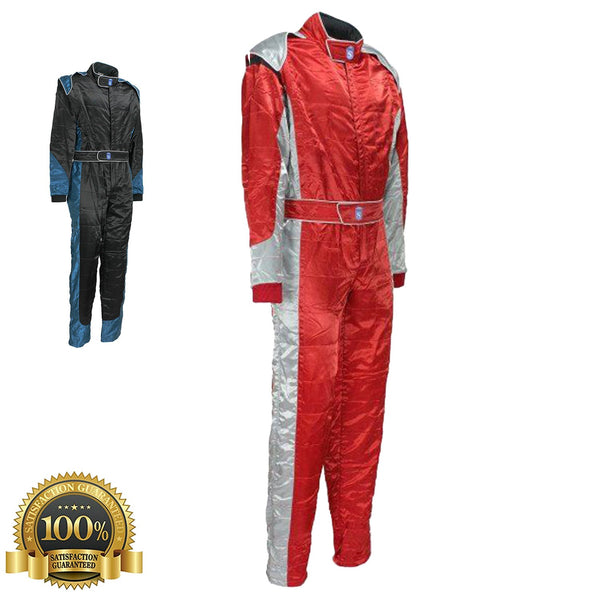 High Quality Suit For Motorsport Racers in Blue color - HugeCARE Srl