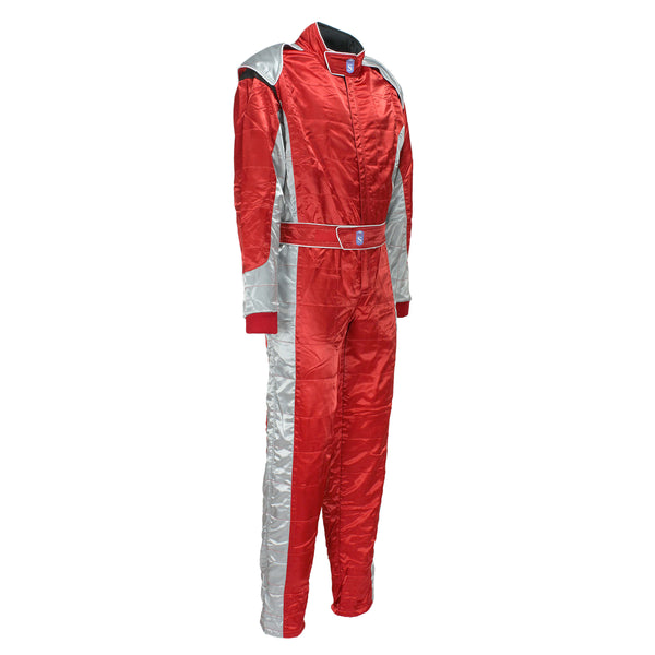 High Quality Motorsport Racewear Race Suit in Red color - HugeCARE Srl