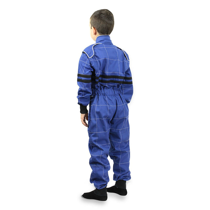 Children Karting Suit Blue - Pink - HugeCARE Srl
