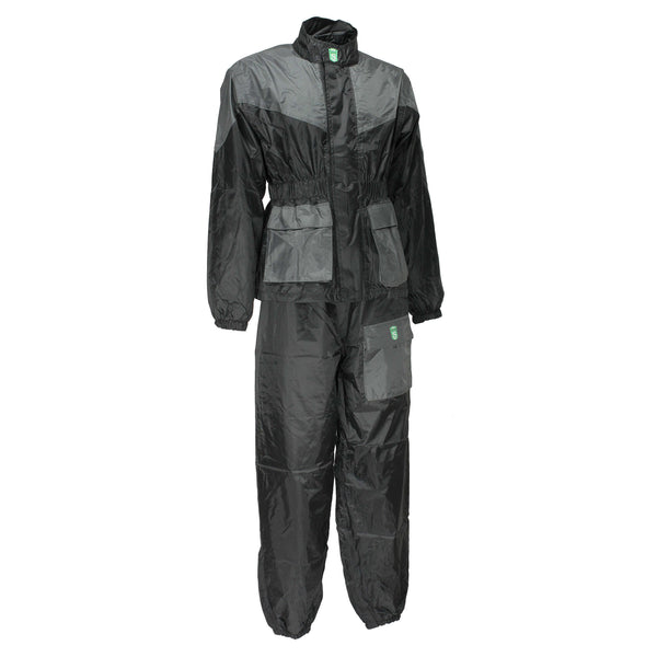 Karting Rain Suit Waterproof Two Pieces Go Kart Suits - HugeCARE Srl