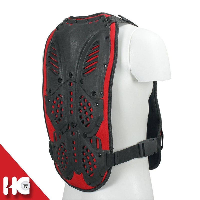 Kart Racing Chest Rib Protector Vest Riders Safety Armour With Adjustable Straddle - HugeCARE Srl
