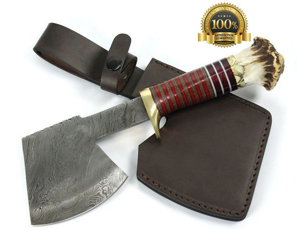 Large Damascus Axe - HugeCARE Srl