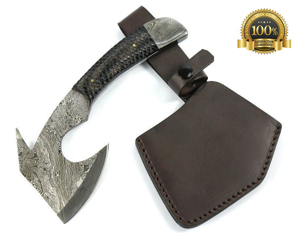 Damascus Throughing Axe - HugeCARE Srl