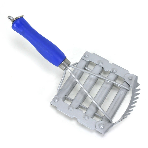 Metal Small Currycomb Stainless Steel - HugeCARE Srl