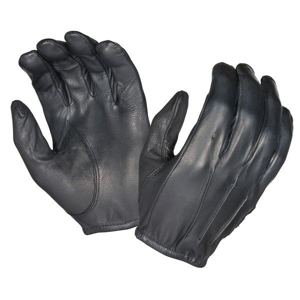 High-Quality Leather Police Gloves - HugeCARE Srl