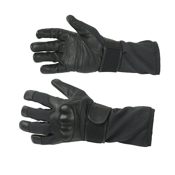 Genuine Leather Gloves With Kevlar Lining - HugeCARE Srl
