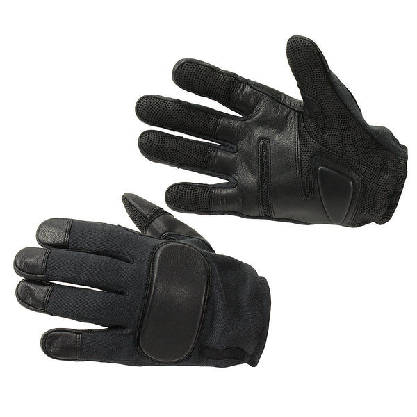 Real Genuine Leather Operational Tactical Gloves - HugeCARE Srl