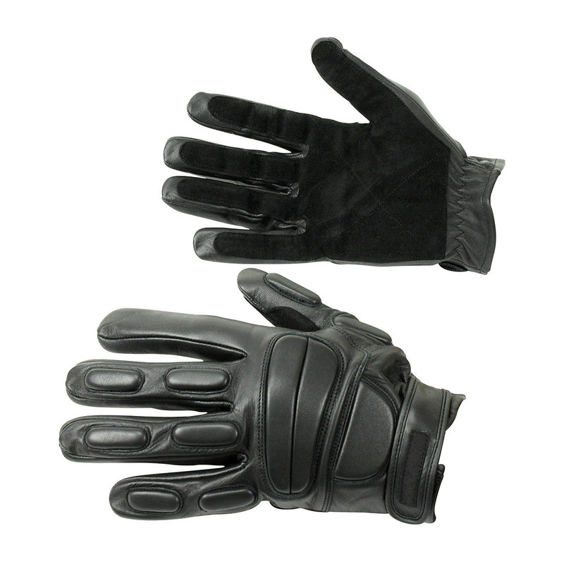 Genuine Leather Resistant And Protective Safety Gloves - HugeCARE Srl