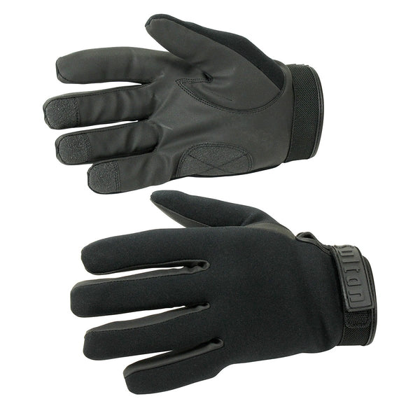 Multipurpose Anti-Slip Black Leather  Heavy-Duty Work Gloves - HugeCARE Srl