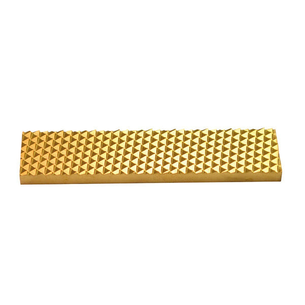 80mm Rect Stick On Blade Titanium Nitride Coated - HugeCARE Srl