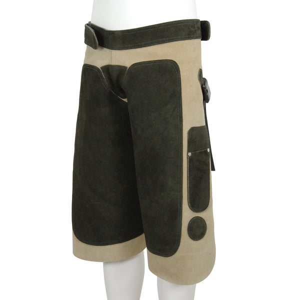 Apron Blacksmith Tan Leather - HugeCARE Srl