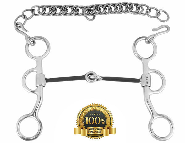 Western Snaffle Bit for Training - HugeCARE Srl