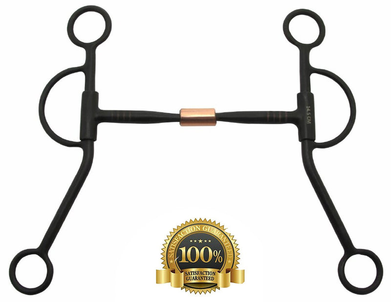 Snaffle Bits Sweet Iron with Copper Roller - HugeCARE Srl