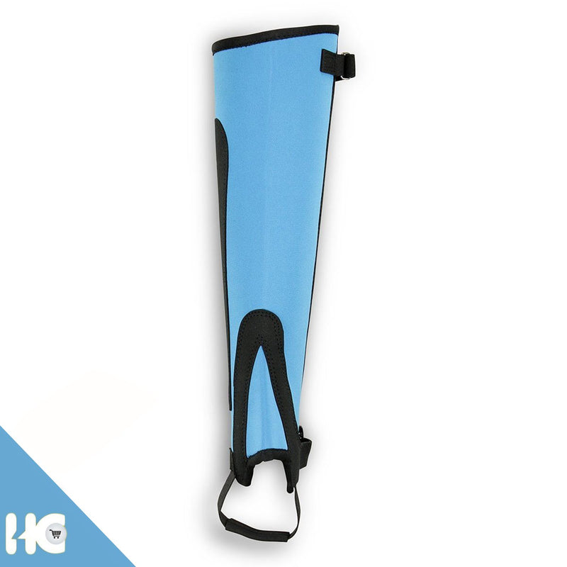 Horse Riding Simple Half Chaps Made Of  Blue Neorpene - HugeCARE Srl