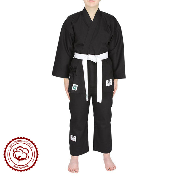 High-Quality Karategi Cotton Canvas Karate Outfit 370/380G - HugeCARE Srl