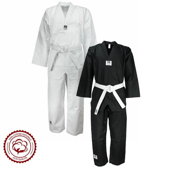 Premium Quality Do-Bok Taekwondo Uniform Polycotton 230/240G - HugeCARE Srl